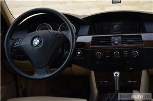 Vand BMW 530xd E60 231cp 4x4 xDrive Ventilatie HeadUpDisplay Navi Mare  - imagine 9
