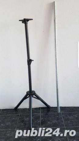 Stativ Trepied antena / max:1,3m, 40kg / Stander boxa Suport difuzor - imagine 1