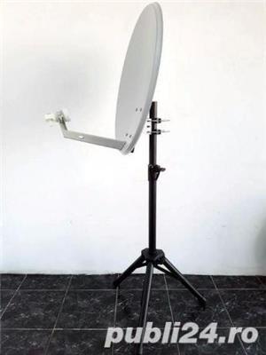 Stativ Trepied antena / max:1,3m, 40kg / Stander boxa Suport difuzor - imagine 3