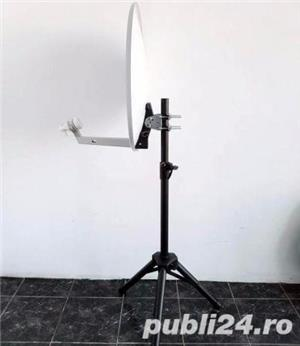 Stativ Trepied antena / max:1,3m, 40kg / Stander boxa Suport difuzor - imagine 4