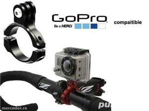 Sistem prindere montura Camera Video Foto GoPro Hero Bicicleta Ghidon - imagine 6