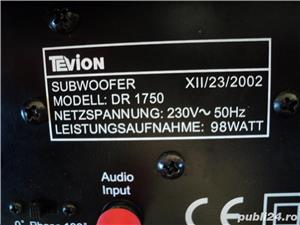 Tevion DR-1750 sistem audio 5.1 cu subwoofer activ - imagine 2