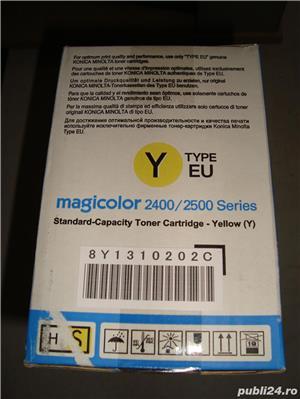 Vand / Schimb Toner Magicolor 2400/2500 yellow - imagine 2