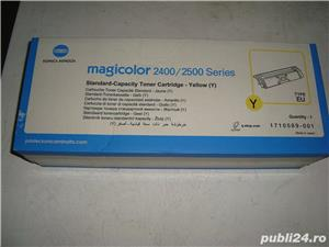 Vand / Schimb Toner Magicolor 2400/2500 yellow - imagine 1