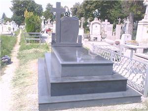 monumente funerare granit ,cruci,cadre ,capace,cavouri complete - imagine 3