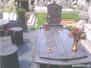 monumente funerare granit ,cruci,cadre ,capace,cavouri complete - imagine 1