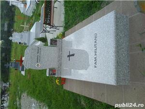 monumente funerare granit ,cruci,cadre ,capace,cavouri complete - imagine 7