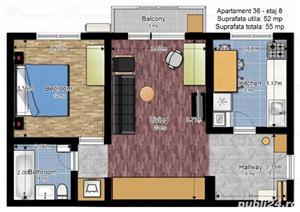 apartament modern 2 camere Bd.Ion Mihalache / Metrou 1 MAI - 3 minute - imagine 9