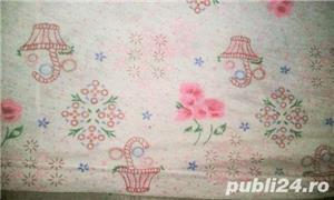 Camasa de noapte/Pijama dama, 100%coton subtire, model frumos, marimi L, XL, 2XL, 4XL, 6XL - imagine 3