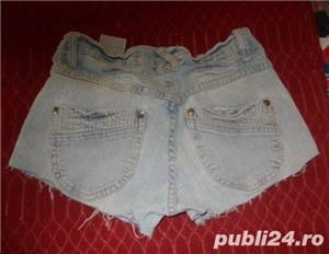 pantaloni scurti de blugi, model superb, denim elastic, stare perfecta, marimi S, M, L - imagine 4