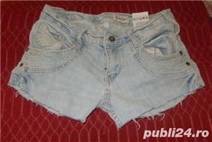 pantaloni scurti de blugi, model superb, denim elastic, stare perfecta, marimi S, M, L - imagine 1