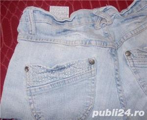 pantaloni scurti de blugi, model superb, denim elastic, stare perfecta, marimi S, M, L - imagine 2
