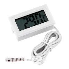 Termometru digital rezistent la apa - alb . Tip: Termometru interior, exterior - imagine 3