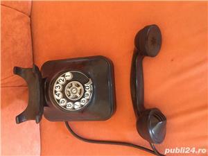 Vand telefon cu disc ebonita - imagine 1