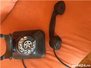Vand telefon cu disc ebonita - imagine 3