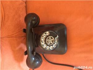 Vand telefon cu disc ebonita - imagine 2