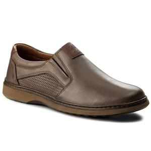 Pantofi din piele neteda maro pentru barbati.Noi. Marime 41-Livrare GRATUITA* - imagine 2