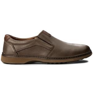 Pantofi din piele neteda maro pentru barbati.Noi. Marime 41-Livrare GRATUITA* - imagine 5