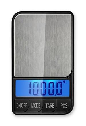 Cantar electronic cu platou inox pentru bijuterii - XTB 1000g x 0.1g - imagine 2