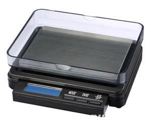 Cantar electronic de mare precizie cu platou inox - XC 2000g x 0.1g - imagine 2