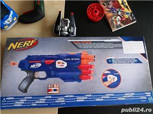 Pistol Nerf N-Strike Elite: Dual-Strike Blaster nou - imagine 2