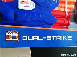 Pistol Nerf N-Strike Elite: Dual-Strike Blaster nou - imagine 4