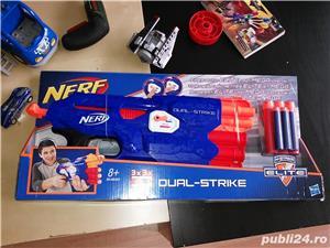 Pistol Nerf N-Strike Elite: Dual-Strike Blaster nou - imagine 1