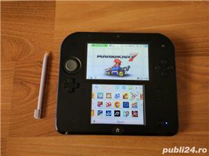 Consola Nintendo 2ds, modata, card 32gb, Pokemon Moon + Mario - imagine 7