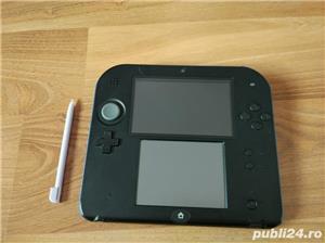Consola Nintendo 2ds, modata, card 32gb, Pokemon Moon + Mario - imagine 1