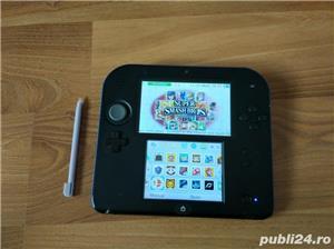 Consola Nintendo 2ds, modata, card 32gb, Pokemon Moon + Mario - imagine 8