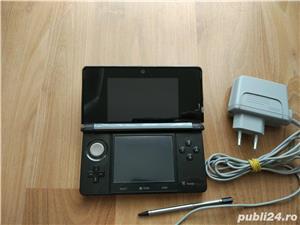 Consola Nintendo 3ds, modata, card 32gb, Pokemon Moon + Super Mario - 20 jocuri - imagine 7