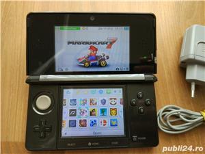 Consola Nintendo 3ds, modata, card 32gb, Pokemon Moon + Super Mario - 20 jocuri - imagine 4