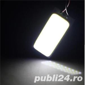 Car led Super Bright White 8W COB 36 Chip LED 18 led Car Interior - imagine 3