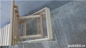 sezlong lemn brad - imagine 3