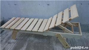 sezlong lemn brad - imagine 4