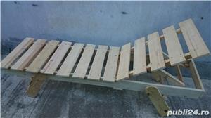 sezlong lemn brad - imagine 5