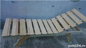 sezlong lemn brad - imagine 2
