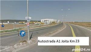 Teren Bolintin Deal vand 18100 mp Nod Autostrada A1 Industrial - imagine 1