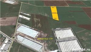 Teren Bolintin Deal vand 18100 mp Nod Autostrada A1 Industrial - imagine 3