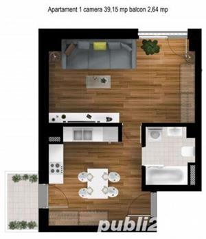 Apartamente de 1 camera zona Kaufland Gheorgheni--50000 euro tva inclus - imagine 1