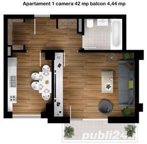 Apartamente de 1 camera zona Kaufland Gheorgheni--50000 euro tva inclus - imagine 2