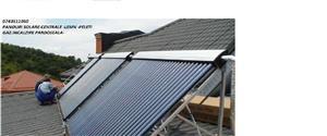 instalatii termice incalzire pardoseala panouri solare acm. cazane lemn peleti biomasa  - imagine 1