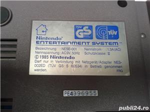 vand consola joc vintage, NES,PAL,nintendo entertainment system,cu 6 jocuri de top,4 manete - imagine 9