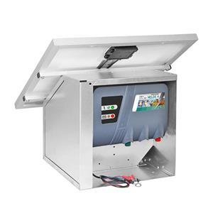 Gard electric Helos 4 + panou solar 35W + regulator incarcare - imagine 2