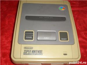 Joc Super Nintendo + Accesori si Jocurii (Schimb) - imagine 1