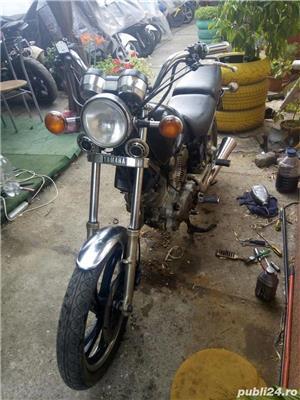 vand sau dezmembrez Chopper Yamaha  virago 500cc - imagine 1