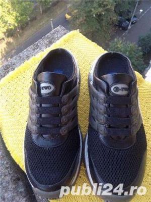 Papuci B Two mar 39,(24 cm) - imagine 3