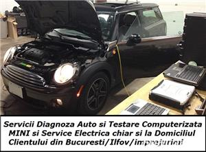 Diagnoza Mini & BMW testare cu tester auto + service rapid reparatii electrica la domiciliu - imagine 1