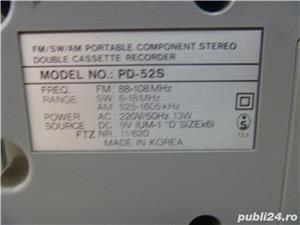 Radio-casetofon Samsung PD-52S - imagine 6