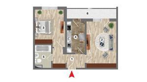 Metrou Dimitrie Leonida - Prima casa - Apartament 2 camere 55mp - imagine 4